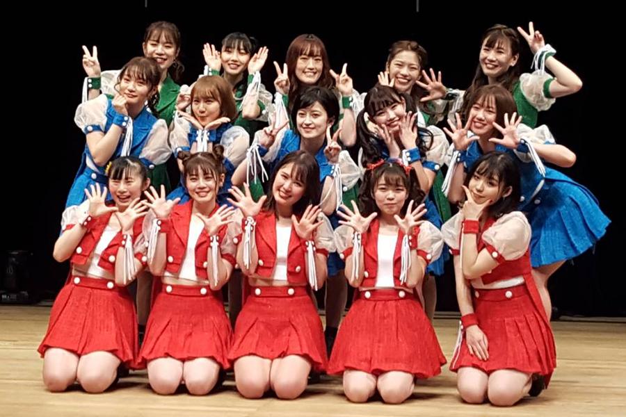15人組アイドルグループ「PATI PATI CANDY...☆」【写真:ENCOUNT編集部】