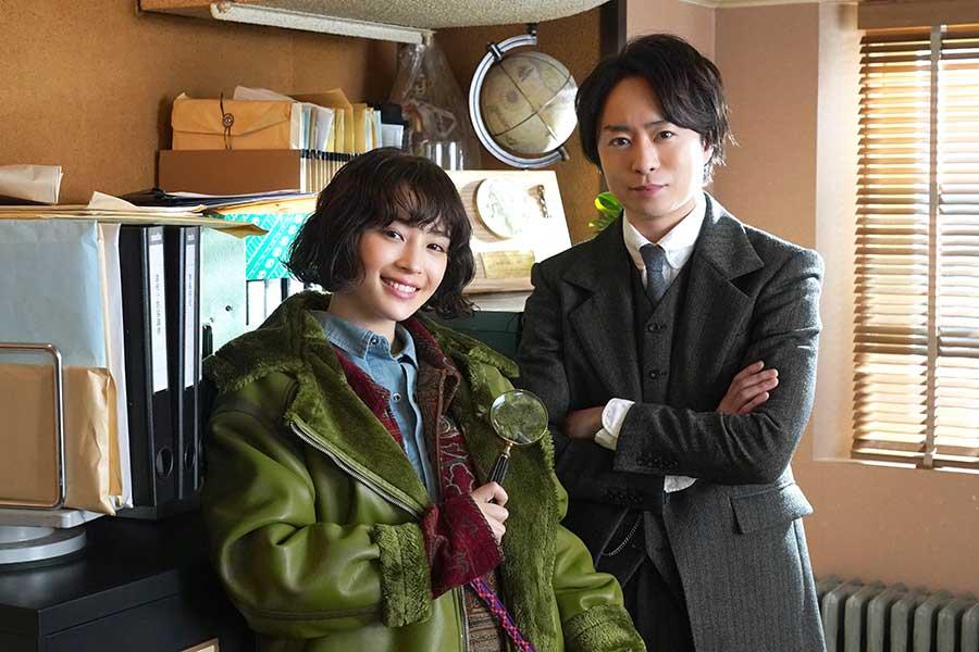 櫻井翔&広瀬すず、探偵ドラマでW主演 櫻井は「嵐」活動休止後、初の連続テレビドラマ