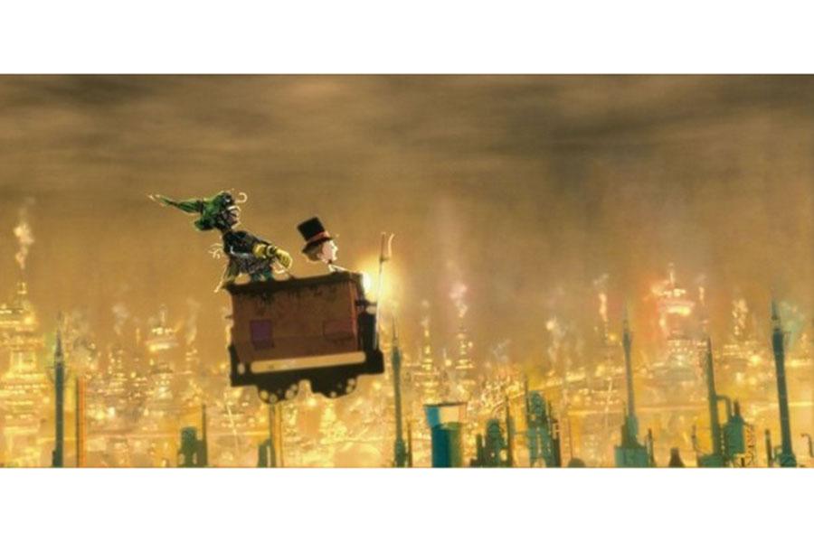 アニメーション映画 「映画 えんとつ町のプペル」 (C)西野亮廣/「映画えんとつ町のプペル」製作委員会