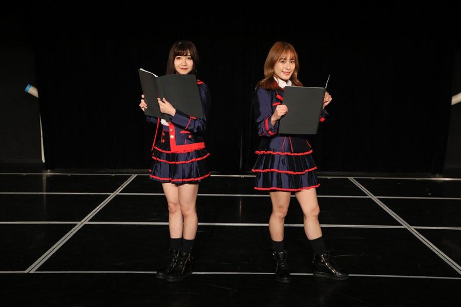 「SKE48」の斉藤真木子と太田彩夏