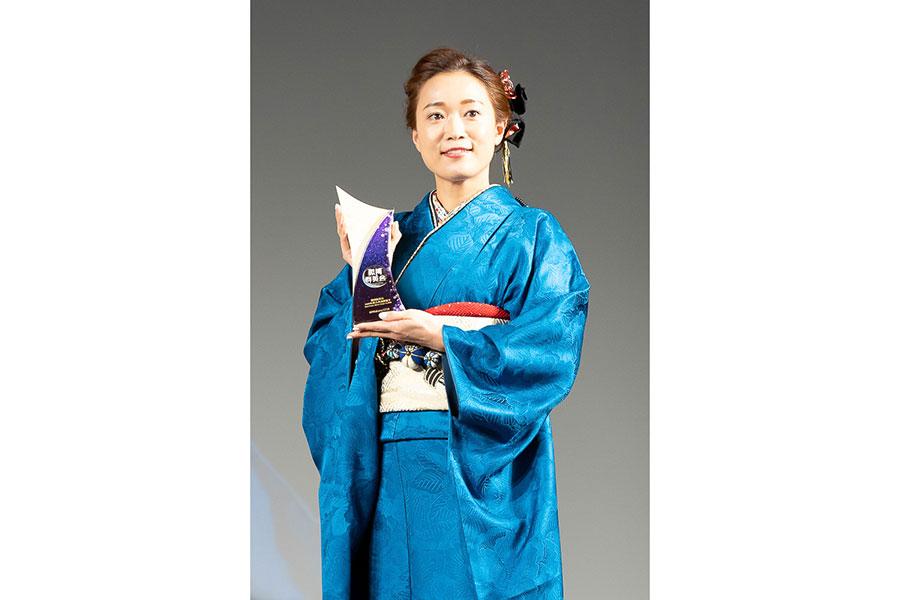 「クラシックアニソンシンガー賞」を受賞したWakana