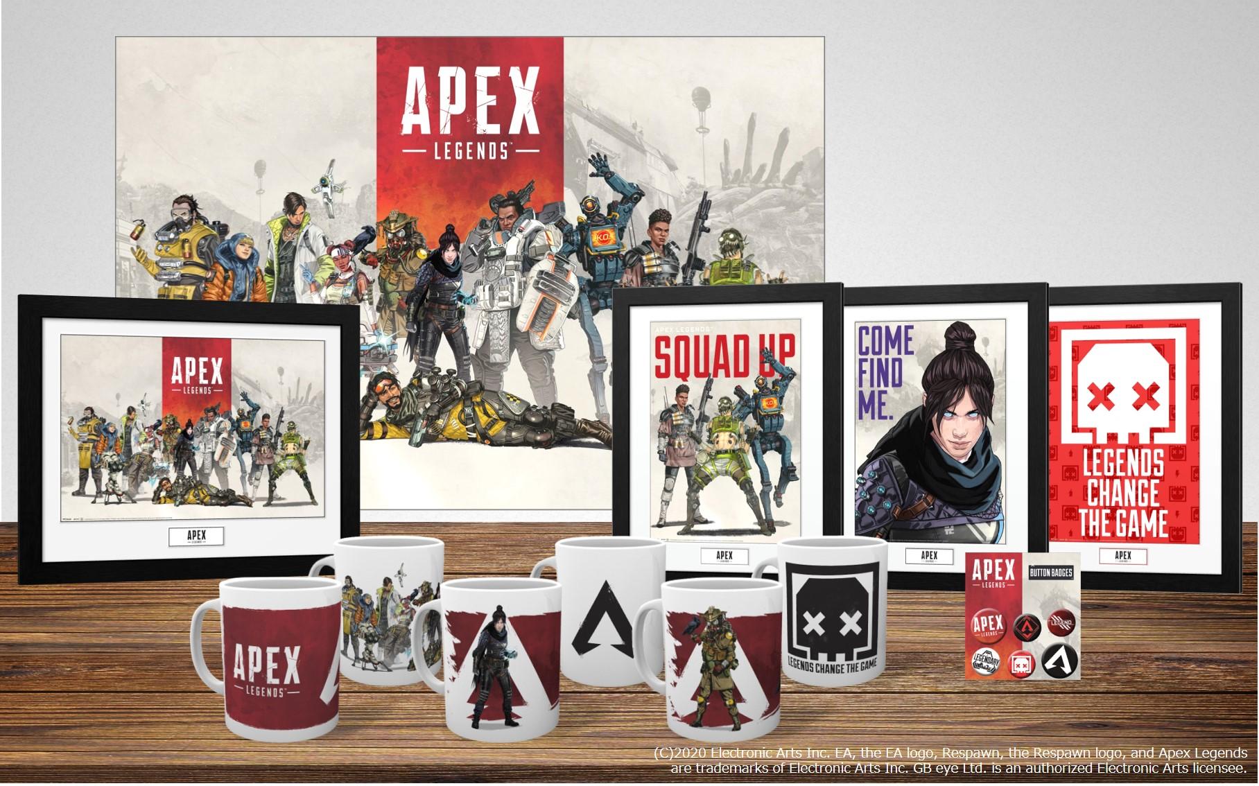 「Apex Legends」公式マグカップなどが登場 ゲーム配信2周年でSwitch版の配信も決定