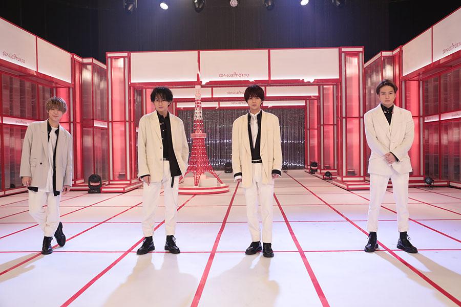 いまだに平均年齢は23.6歳の「Sexy Zone」【写真:(C)NHK】