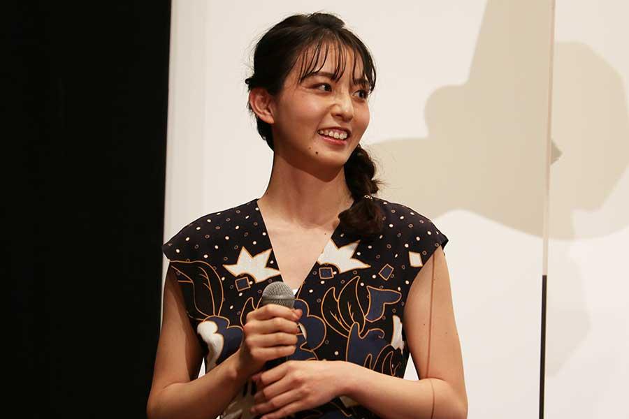 「スーパー戦隊 MOVIE レンジャー2021」の完成報告イベントに登壇した宮原華音