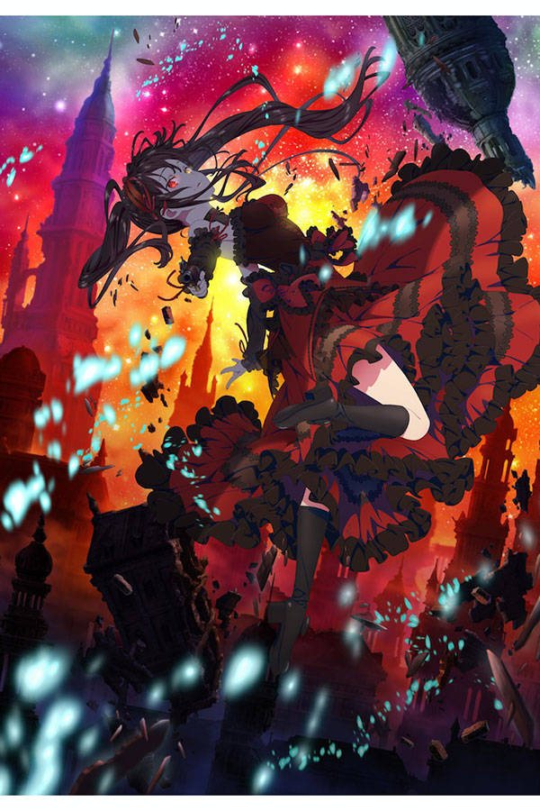 「デート・ア・バレット」キービジュアル【写真:(C)2020 東出祐一郎・橘公司・NOCO/KADOKAWA/「デート・ア・バレット」製作委員会】