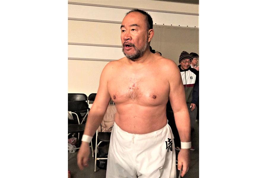 馬場と猪木の両巨頭に仕えた男「サムライシロー」の今を追跡 東京-長野を往復の生活