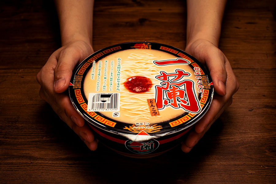 こだわり抜いたカップ麺「一蘭 とんこつ」