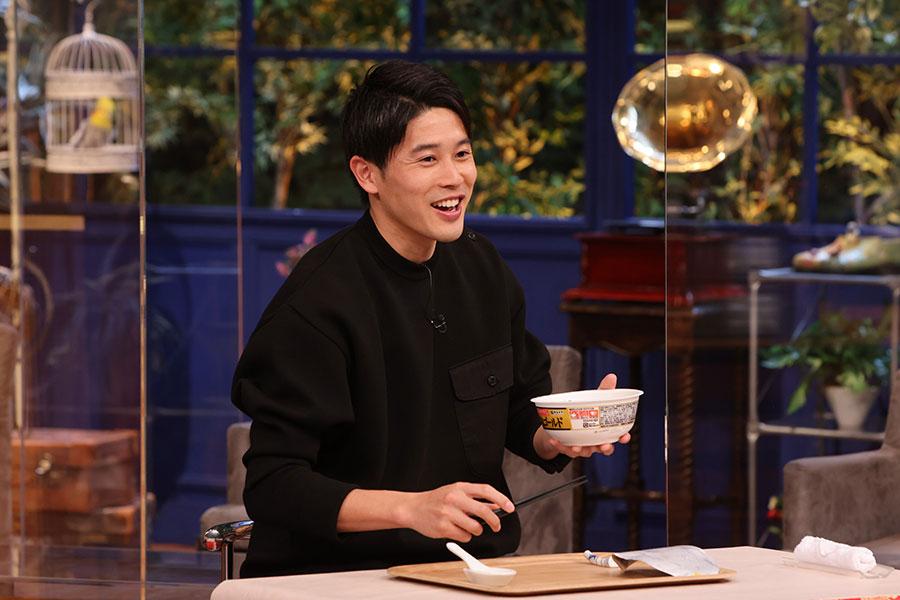 高嶋ちさ子が内田篤人と対面【写真:(C)テレビ朝日】