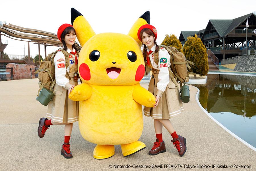 生田絵梨花&松村沙友理 かわいすぎるミュージックビデオ公開 ピカチュウを探す旅に