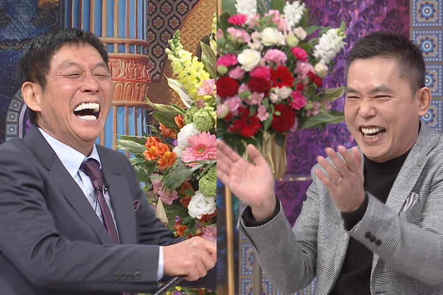 爆笑問題・太田が、相方・田中の代役で「さんま御殿」に登場【写真:(C)日本テレビ】