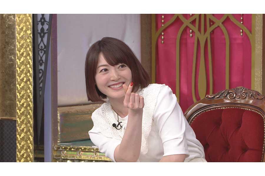 花澤香菜が「今夜くらべてみました」に出演【写真:(C)日本テレビ】