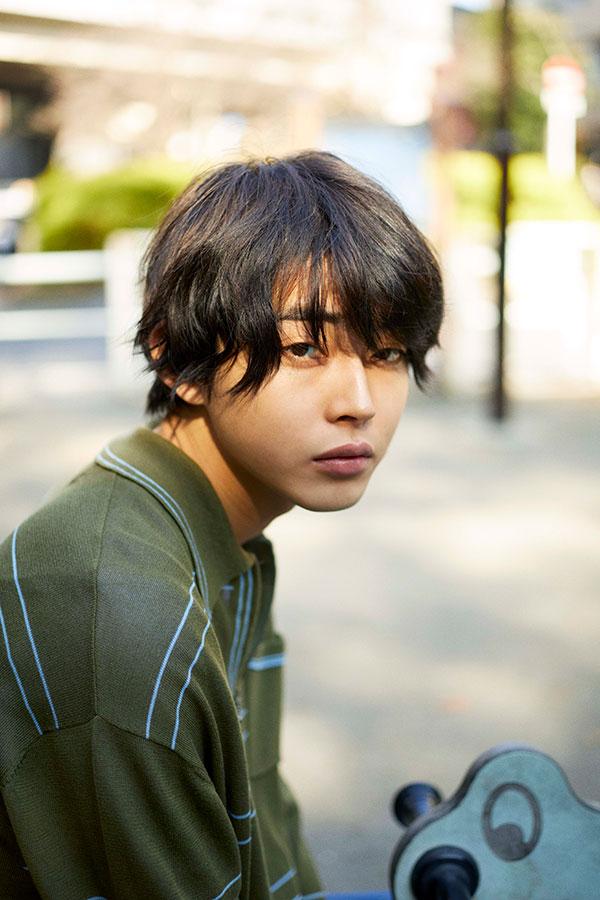 竹井ヨシヲを演じる倉悠貴【写真:(C)NHK】