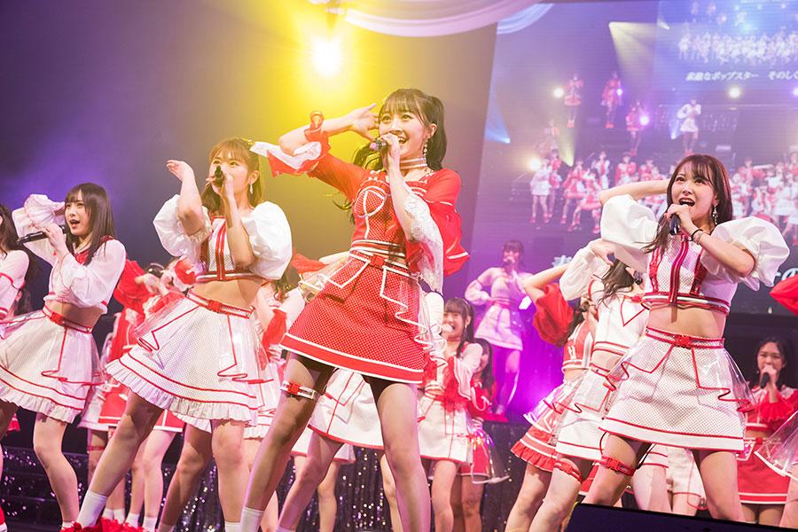 大阪・オリックス劇場で3日に行われた「山本彩加卒業コンサート~最後の一色~」【写真:(C)NMB48】