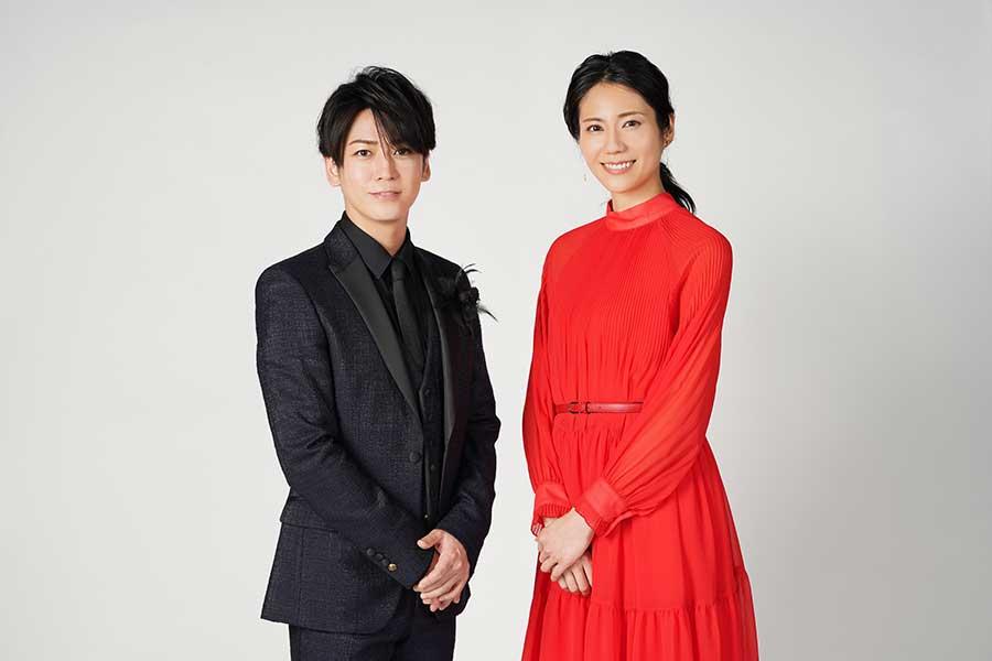亀梨和也と松下奈緒が「Premium Music」でMCを務める【写真:(C)日本テレビ】