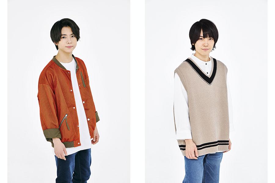 「Kappa」に出演する織山尚大(左)と青木滉平
