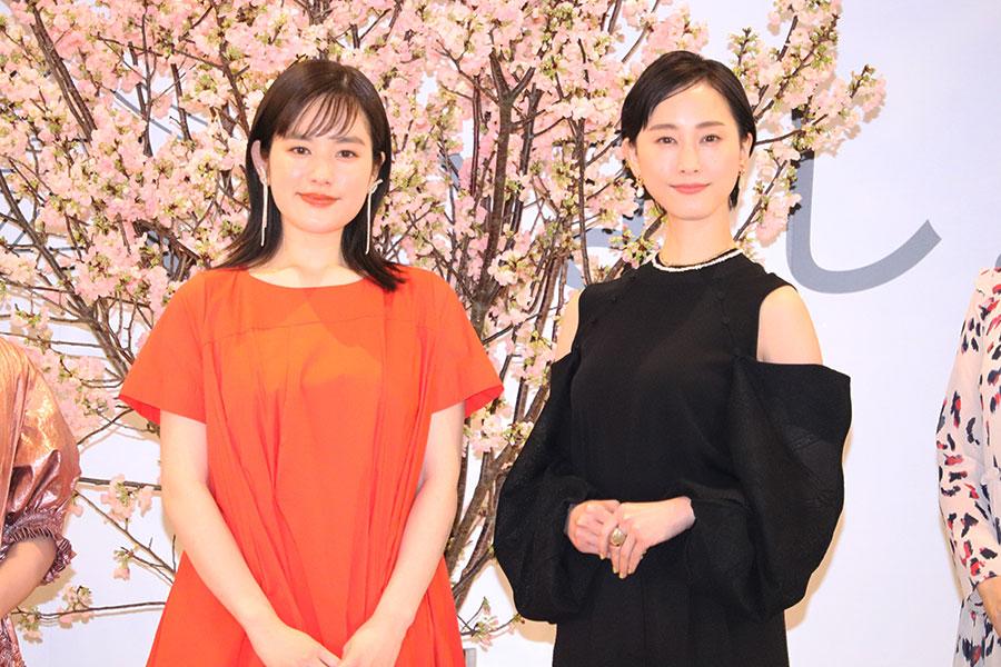 松井玲奈、映画初単独主演で筧美和子と姉妹役「こんなに触っていいのだろうか」
