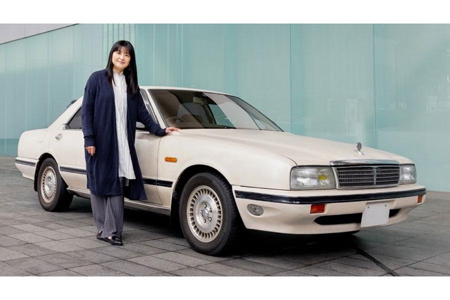 伊藤かずえ、30年乗車の愛車シーマをレストア 日産が全面協力で「どうなるのか楽しみ」