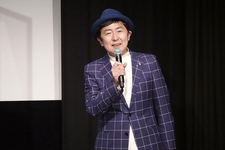 フリーアナウンサーの笠井信輔【写真:ENCOUNT編集部】