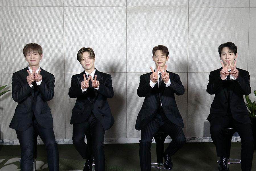 SHINee、「スッキリ」で2年6か月ぶりの新曲初披露 楽曲の注目ポイントをアピール