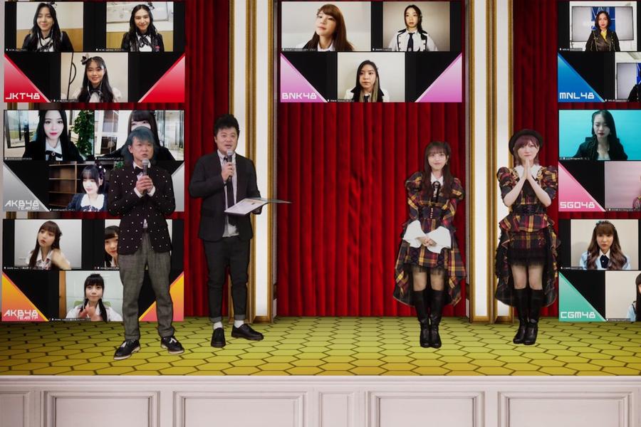 """AKB48と海外姉妹グループが共演する""""夢の舞台""""アジアフェスをオンラインで開催"""