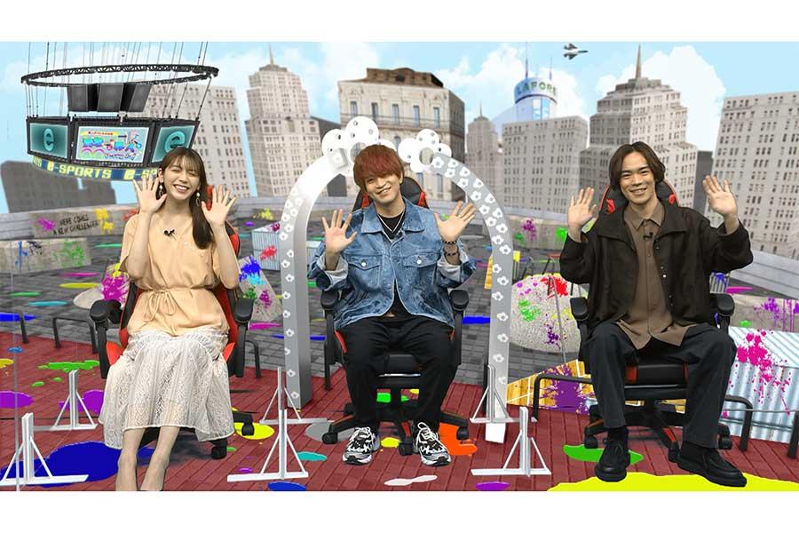 「eスポPark」は小野賢章&石川界人がMC、貴島明日香がアシスタントを務める