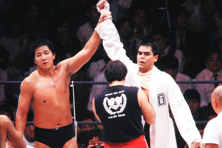 【プロレスこの一年 ♯39】猪木と前田、明暗分けた異種格闘技戦 元横綱・輪島のプロレスデビュー 86年のプロレス
