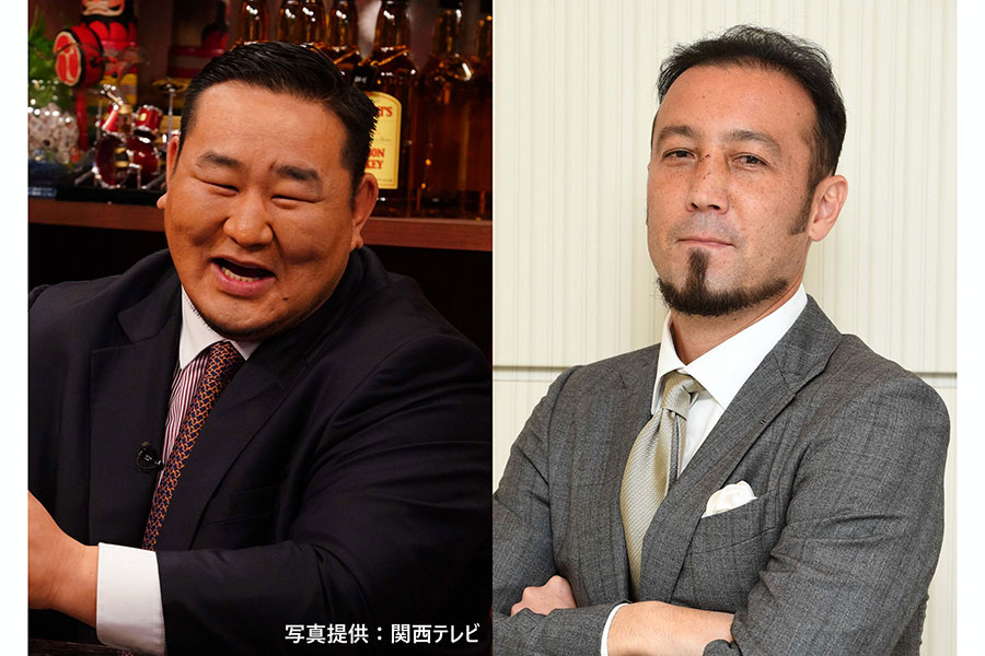 元横綱・朝青龍とサッカー元日本代表・田中マルクス闘莉王