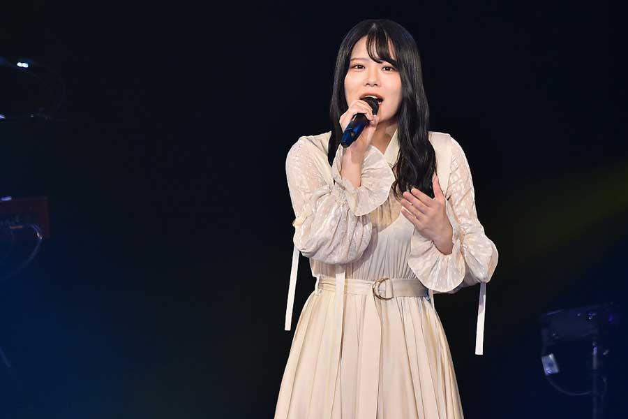 「STU48」矢野帆夏は2年ぶりのファイナリストLIVEでファンに歌の魅力を届けた