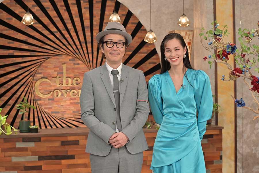 「The Covers」新MCの水原希子とリリー・フランキー【写真:(C)NHK】