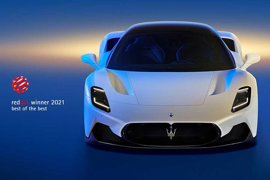 マセラティの新型ハイパースポーツカー「MC20」