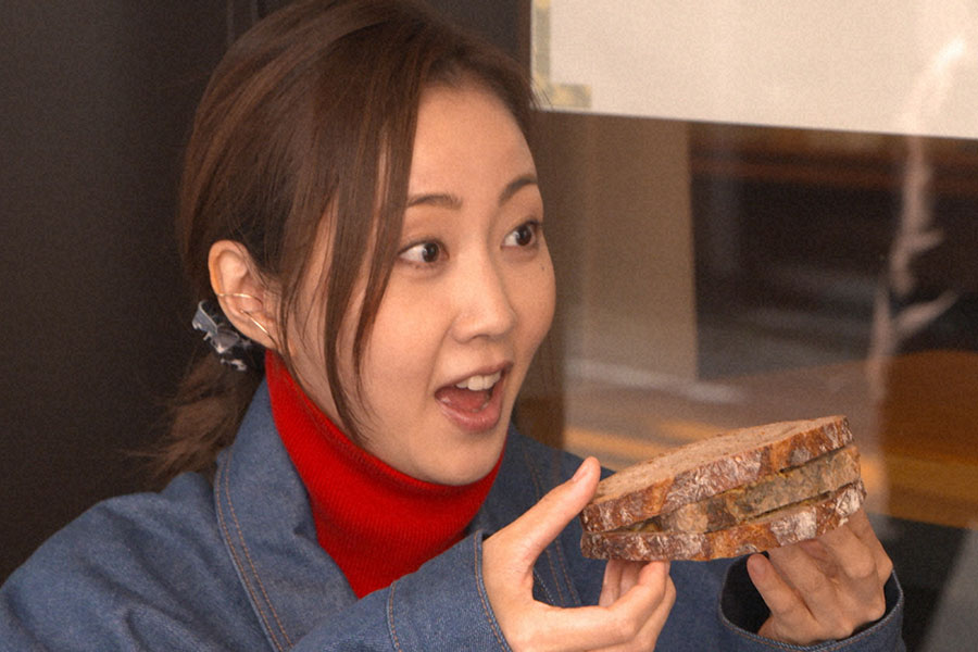 """木南晴夏「パン旅。」新シリーズがスタート 「ひと味違った趣」で楽しんだ""""お外時間"""""""