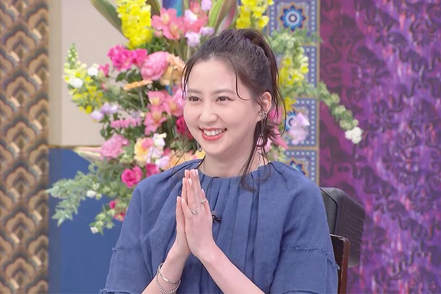 「踊る!さんま御殿!!」に出演する河北麻友子【写真:(C)日本テレビ】