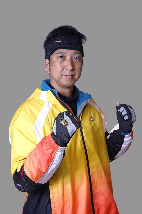 『逃走中』に 出演する元プロ野球選手の藤川球児さん【写真:(C)フジテレビ】