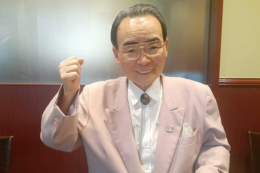 75歳になったが目力は現役に負けない!?井脇ノブ子さん【写真:ENCOUNT編集部】