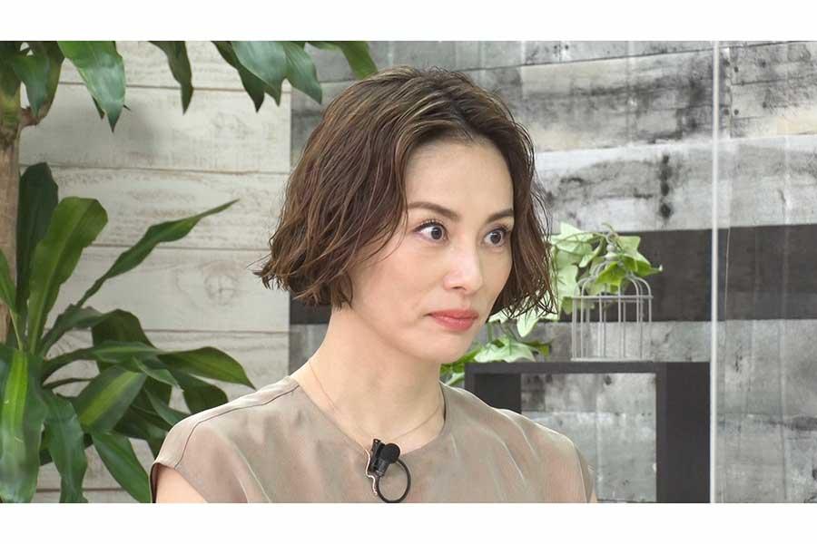 米倉涼子が理想のタイプや結婚観を語る 占い師「再婚する、そしてまた再婚する」
