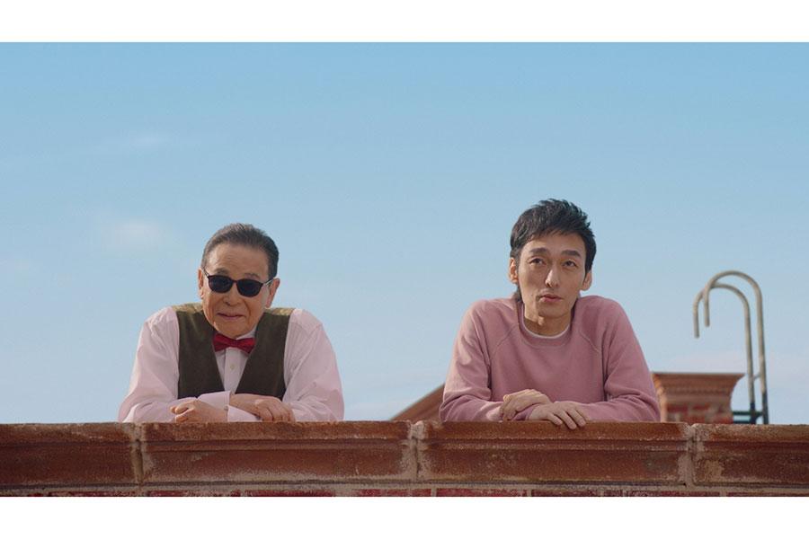 タモリ、草なぎ剛がテレビCM初共演 24年ぶりの演技共演に草なぎ「緊張しました」