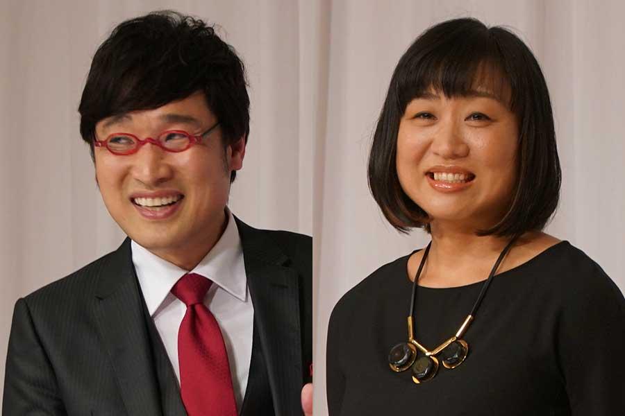 南海キャンディーズ・山里亮太(左)としずちゃん【写真:ENCOUNT編集部】