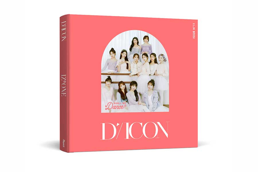 「Dicon Vol.11 IZ*ONE 写真集『Shall We dance?』」Deluxe Edition【写真:(C)Dispatch】