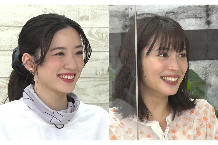 永野芽郁(左)と広瀬アリス【写真:(C)フジテレビ】