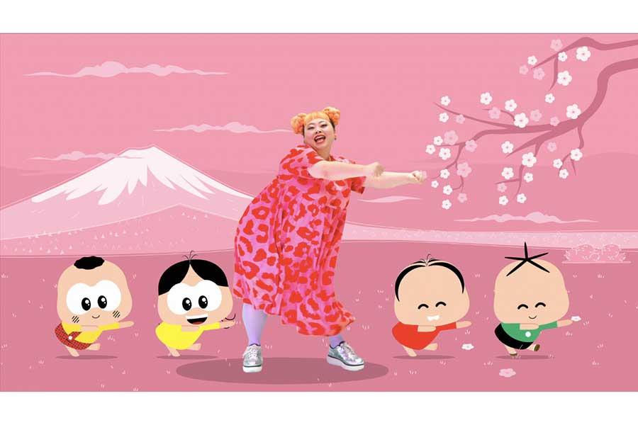 渡辺直美と「モニカ トイ」のコラボアニメが完成【写真:(C)フジテレビ】