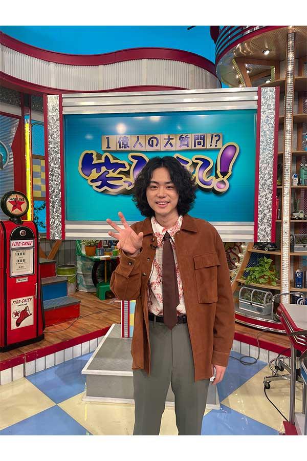 「笑ってコラえて」にゲスト出演する菅田将暉【写真:(C)日本テレビ】