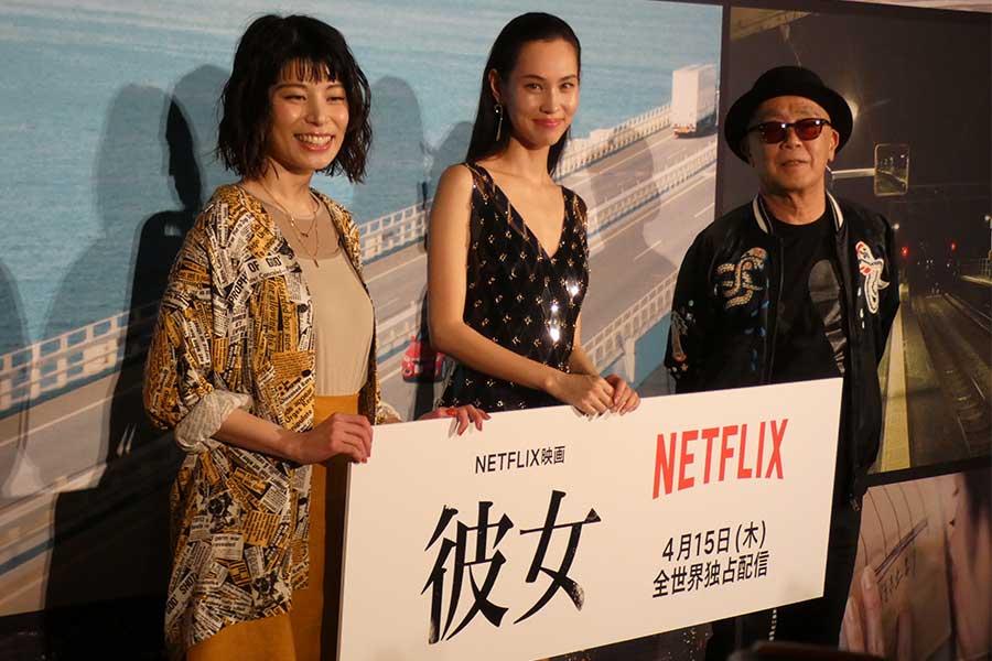 水原希子&さとうほなみ「ずっと抱き合っていた」 主演映画イベントで役作り告白