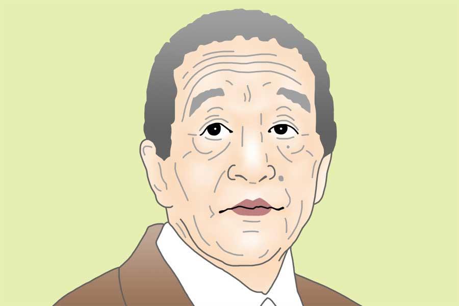 田中邦衛さん(イラスト)
