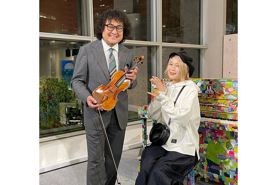 天才ピアニストYouTuberハラミちゃん、葉加瀬太郎と初コラボで超絶パフォーマンス披露