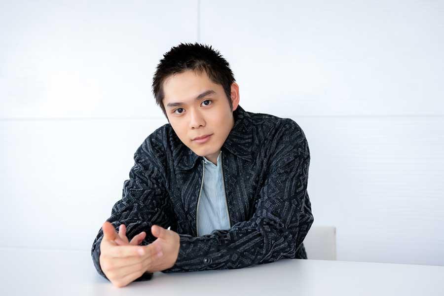 「ドラゴン桜」で原健太を演じる細田佳央太。役作りのために短髪に。さらに10キロ以上増量した【写真:荒川祐史】