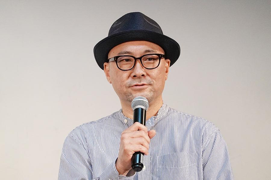 特別授業を行った内田英治監督【写真:ENCOUNT編集部】