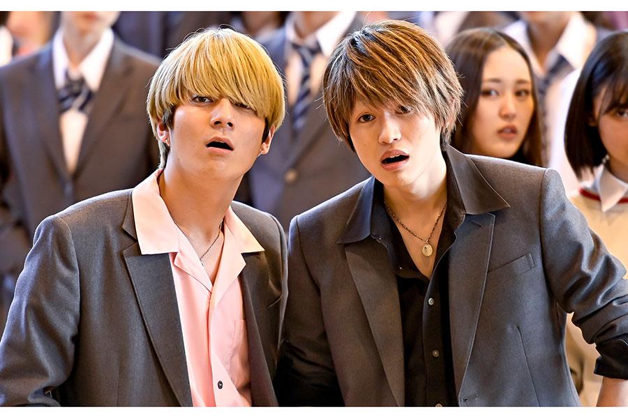 西垣匠と西山潤がドラマ「ドラゴン桜」にかける思いを語った【写真:(C)TBS】