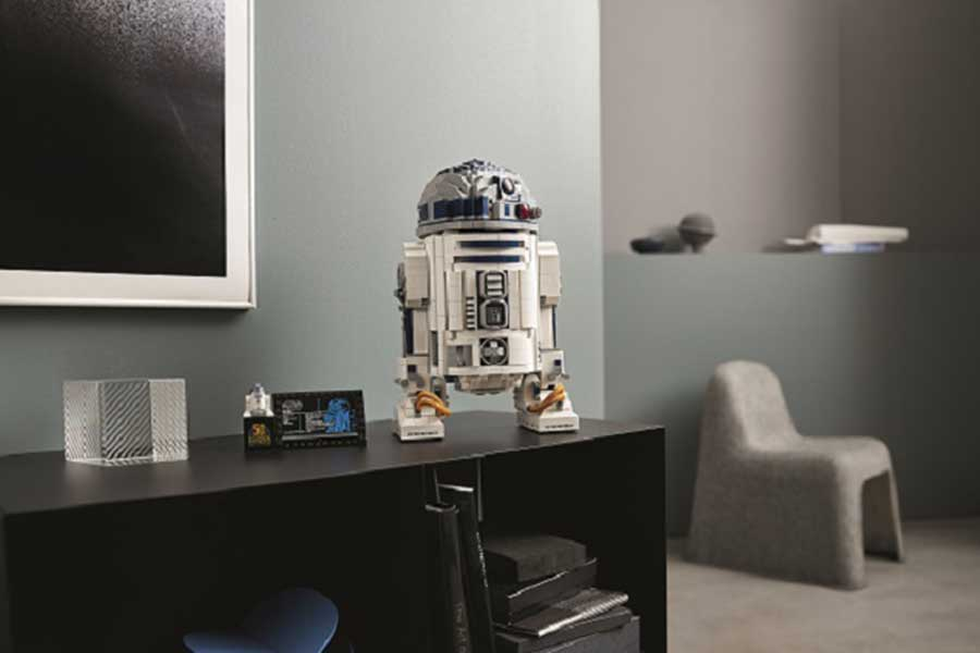 R2-D2がレゴシリーズで登場【写真:(C)2021 The LEGO Group.(C) & TM Lucasfilm Ltd.】