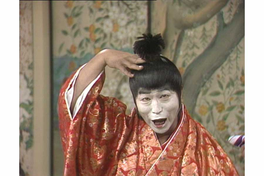 志村けんさん扮するドリフ版「バカ殿様」【写真:(C)フジテレビ】