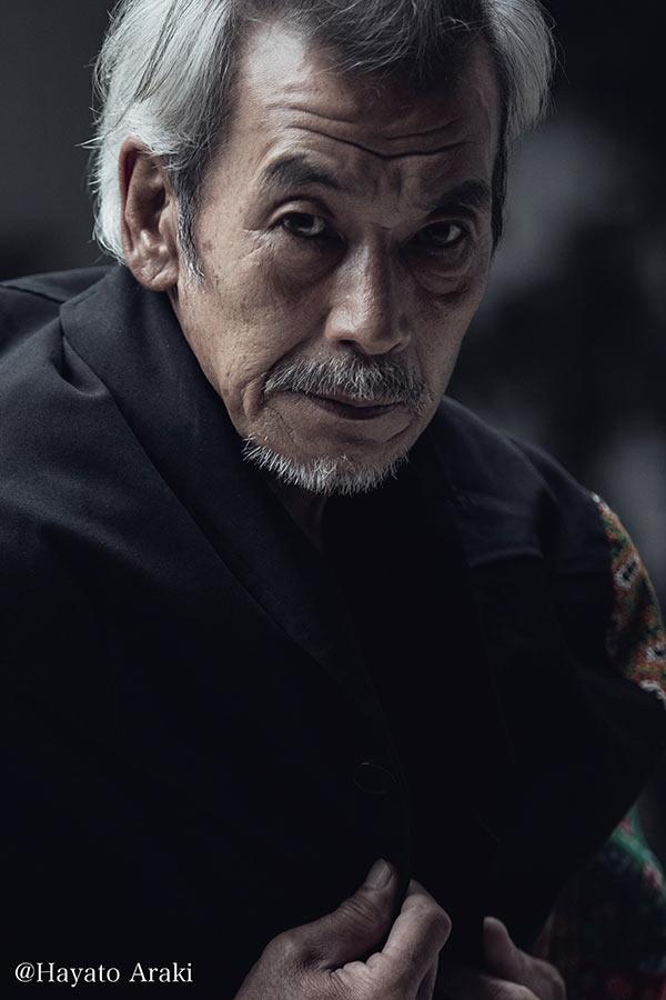 藤原秀衡を演じる田中泯【写真:(C)NHK】